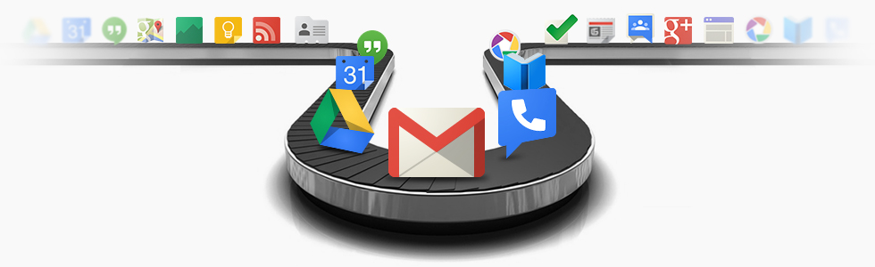 integrated inbox for gmail google apps home page integrated